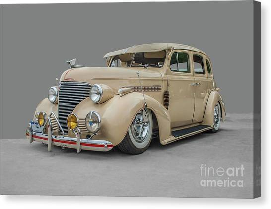 1939 Chevrolet Master Deluxe Canvas Print