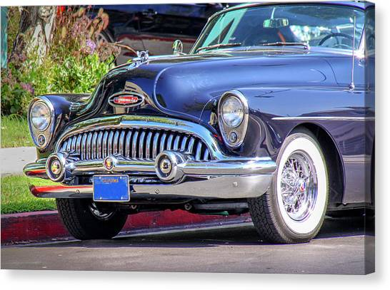 1953 Buick Skylark - Chrome And Grill Canvas Print