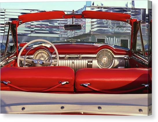 1953 Oldsmobile Rocket 98 Canvas Print