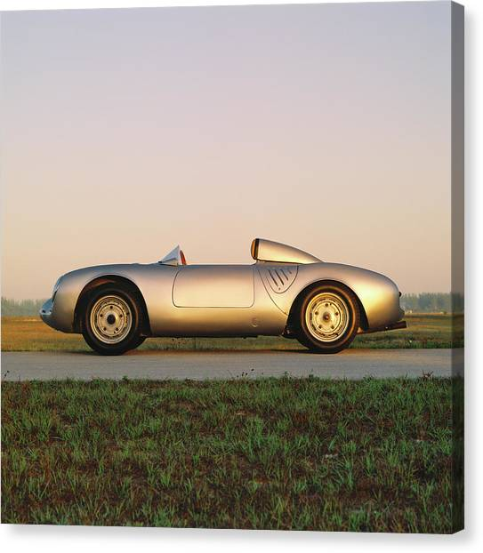 1956 Porsche 550a 1500rs Spyder Canvas Print