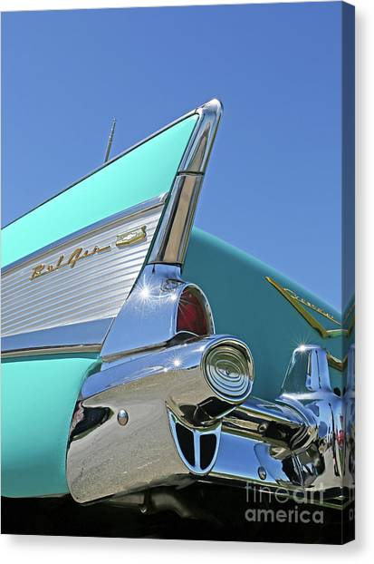 1957 Chevy Canvas Print