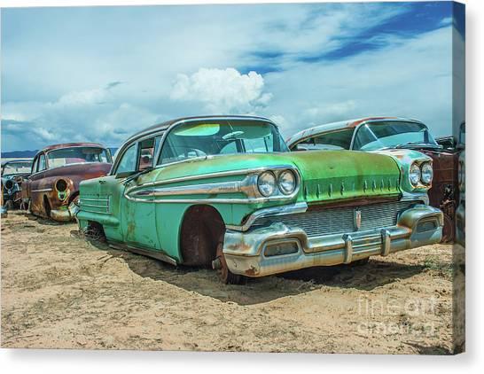 1958 Oldsmobile Super 88 Canvas Print