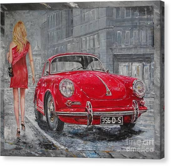 1965 Porsche 356 C Canvas Print