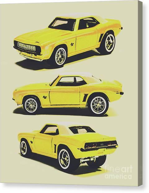 Automobile Canvas Print - 1969 Camaro by Jorgo Photography - Wall Art Gallery