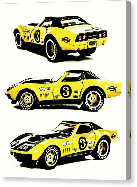 Coupe Canvas Print - 1969 Chevrolet Copo Corvette by Jorgo Photography - Wall Art Gallery