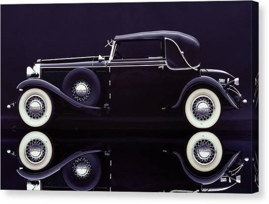 1930 Graham-paige All Weather Cabriolet Canvas Print