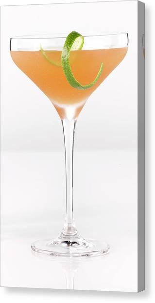 Alcohol Cocktail Canvas Print