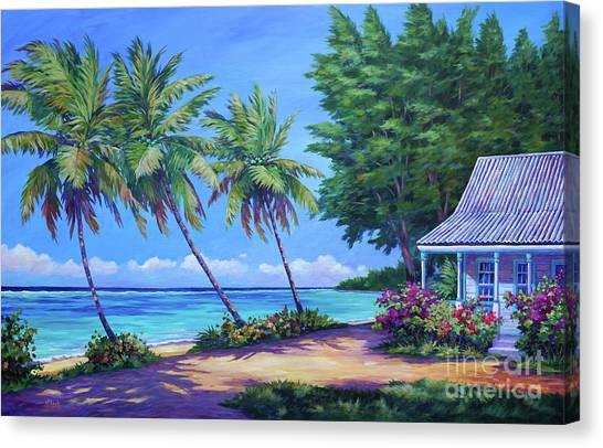 Bahamas Canvas Print - At The Island's End by John Clark