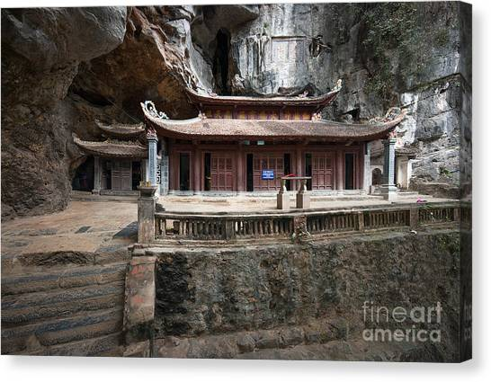 Worship Canvas Print - Bich Dong Pagoda In Ninh Binh, Vietnam by Banana Republic Images