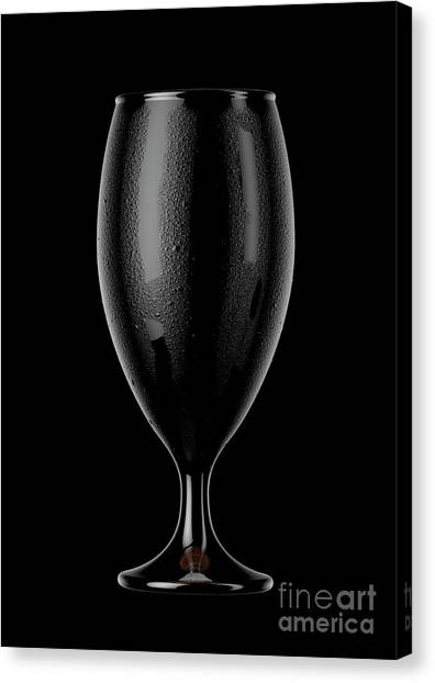 Brewery Canvas Print - Chalice Beer Pint by Allan Swart