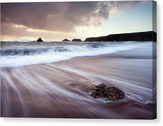 Waterford Canvas Print - Departing Storm by Niall Whelan