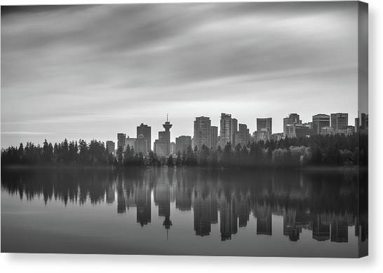 Downtown Vancouver Canvas Print