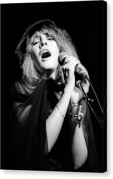 Mac Canvas Print - Fleetwood Mac Live by Ed Perlstein