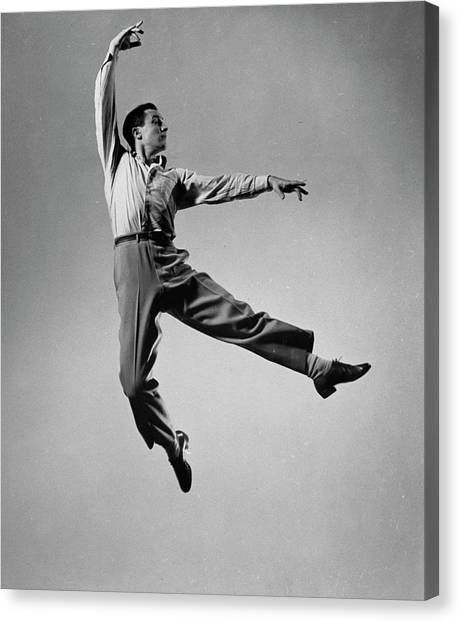 Gene Kelly Canvas Print by Gjon Mili