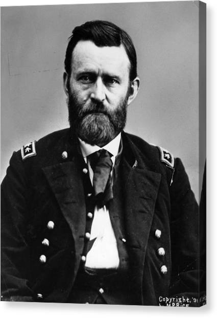 U. S. Presidents Canvas Print - General Grant by Hulton Archive