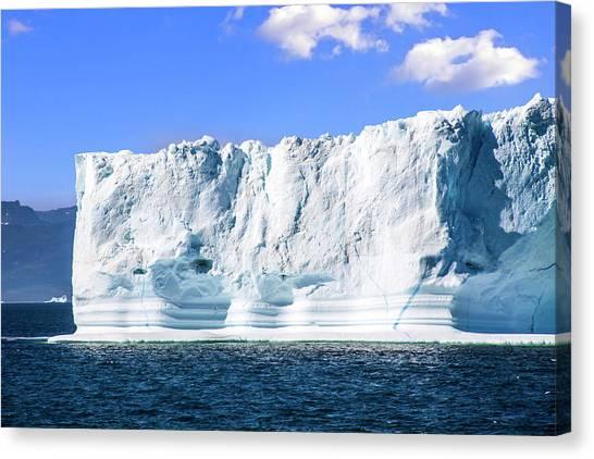 Glacier Bay Canvas Print - Greenland, Discovery Bay, (disko Bay by Miva Stock