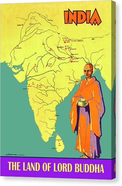 Holy Land Canvas Print - India by Long Shot
