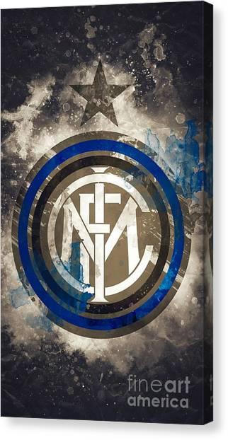 Inter Milan Canvas Print - Inter Milan by Paul Husen