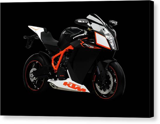 Duke University Canvas Print - Ktm Duke 200 by Smart Aviation