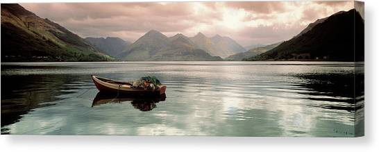 Canvas Print - Lake Duich Highlands Scotland  by Panoramic Images