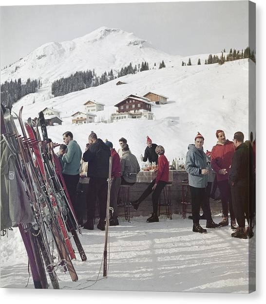 Lech Ice Bar Canvas Print