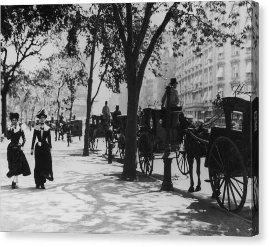 Madison Square Park Canvas Print by Fpg