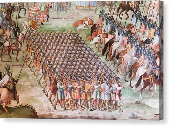 Monastery, El Escorial, Spain Canvas Print by Ken Welsh