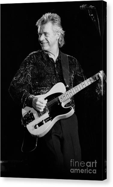 Ringo Starr Canvas Print - Musician Dave Edmunds by Concert Photos