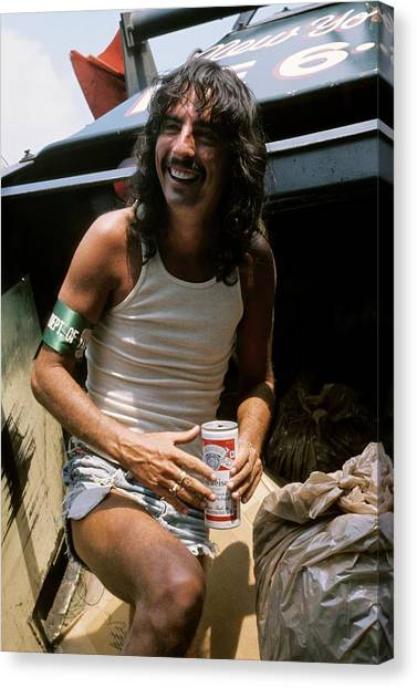 Alice Cooper Canvas Print - Photo Of Alice Cooper by Steve Morley