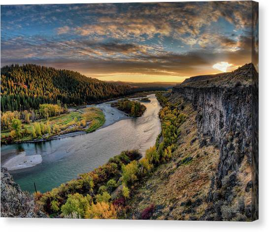 River Magic Canvas Print