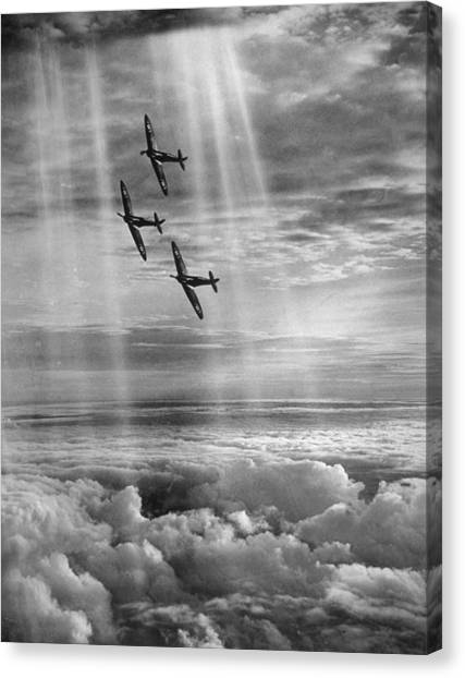 Supermarine Spitfire Canvas Print