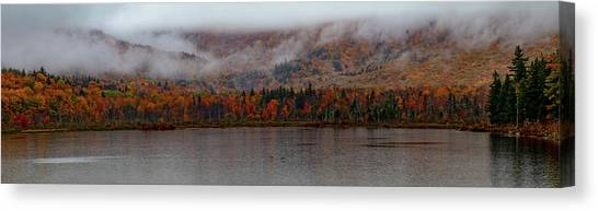 The Basin In Maine Canvas Print