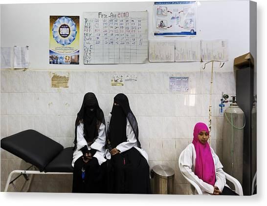 The Republic Of Yemen Canvas Print by Brent Stirton