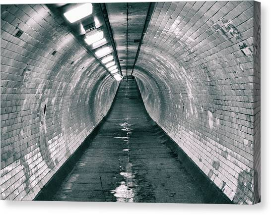 Installation Art Canvas Print - The Tunnel by Martin Newman