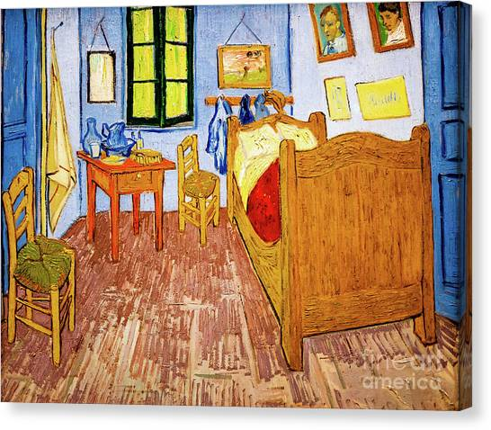 Van Gogh's Bedroom At Arles Canvas Print