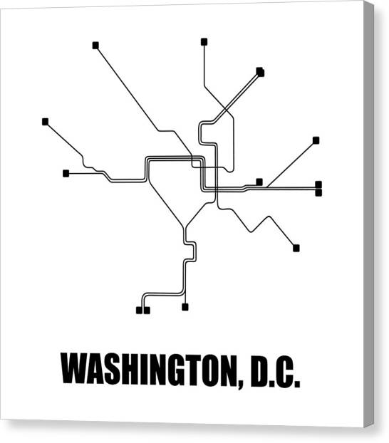 Hanukkah Subway Map Card.House Of Cards Canvas Prints Fine Art America