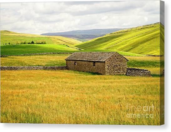 Yorkshire Dales Landscape Canvas Print