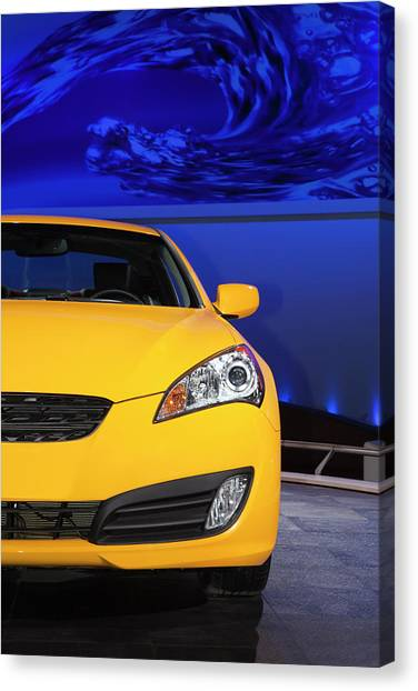 2010 Hyundai Genesis Coupe Canvas Print