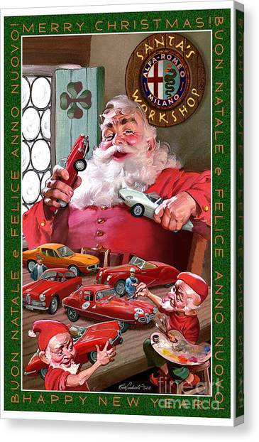 2011 Alfa Club Christmas Card Canvas Print