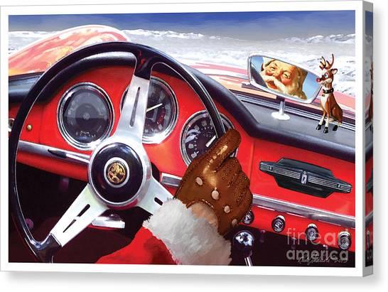 2013 Alfa Club Christmas Card Canvas Print