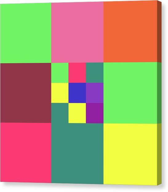 2018-10-23-17-02 Grid Canvas Print