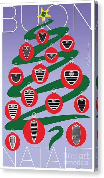2018 Alfa Club Christmas Card Canvas Print