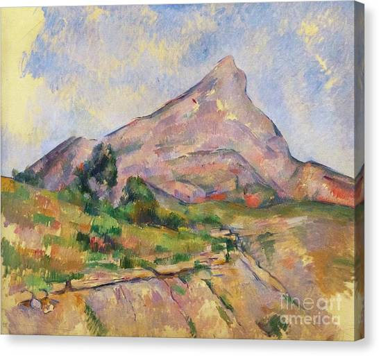 State Hermitage Canvas Print - Mont Sainte-victoire by Peter Barritt