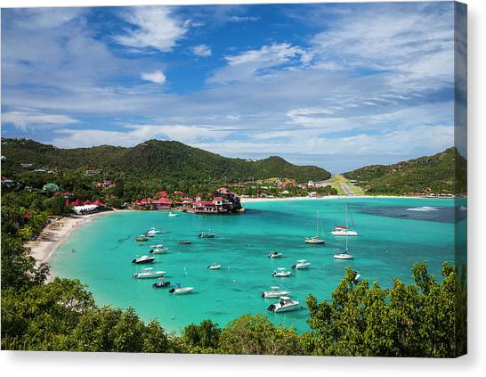French West Indies, St-barthelemy Canvas Print by Walter Bibikow