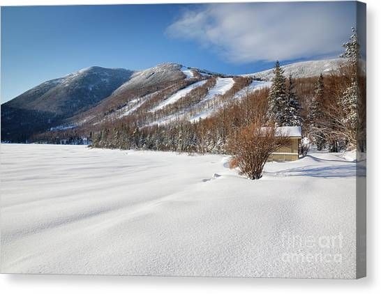 Canvas Print featuring the photograph Cannon Mountain - White Mountains New Hampshire  by Erin Paul Donovan