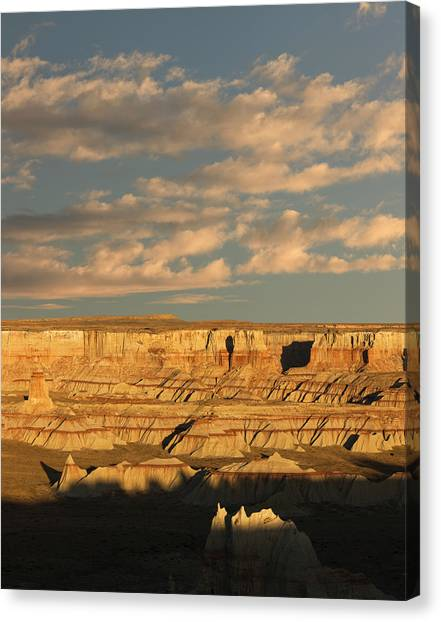 Coal Mine Canyon Near Tuba City Canvas Print by Adam Jones