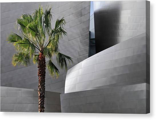 Disney Concert Hall Canvas Print