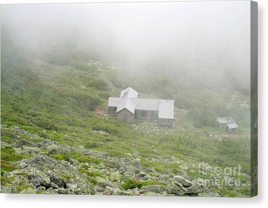 Canvas Print featuring the photograph Madison Spring Hut - White Mountains New Hampshire  by Erin Paul Donovan