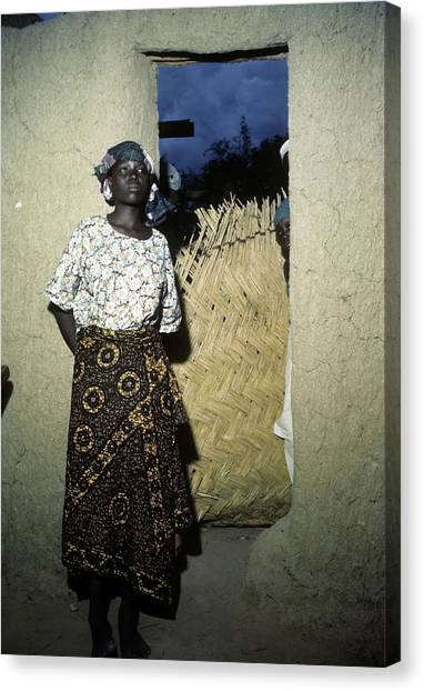 Maiduguri Nigeria Canvas Print by Michael Ochs Archives