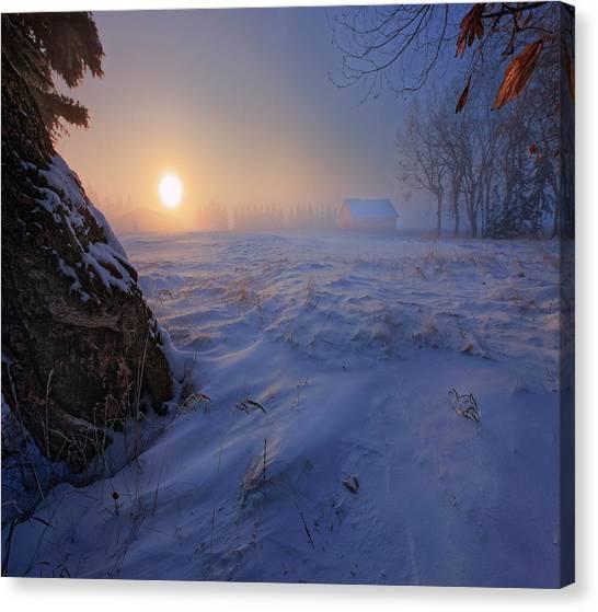 -30 Celsius Canvas Print